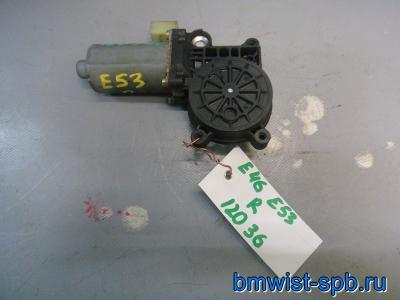 моторчик стеклоподъемника правый e46, e53